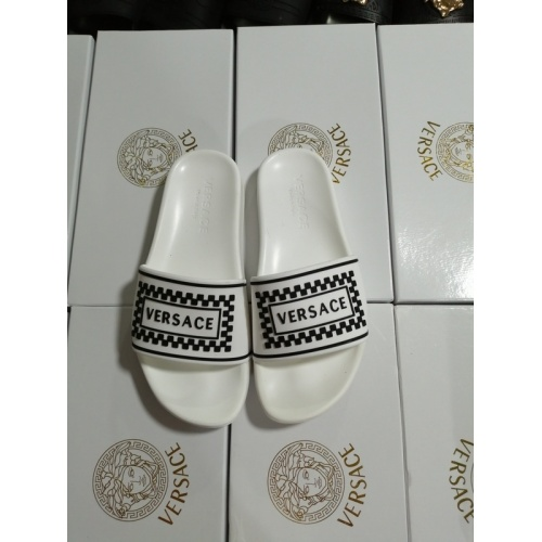 Versace Slippers For Men #767520 $41.71, Wholesale Replica Versace Slippers