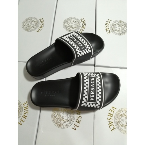 Replica Versace Slippers For Men #767522 $41.71 USD for Wholesale
