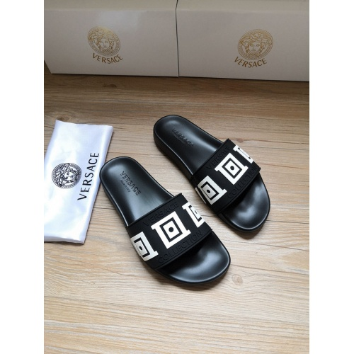 Versace Slippers For Men #767524 $41.71, Wholesale Replica Versace Slippers