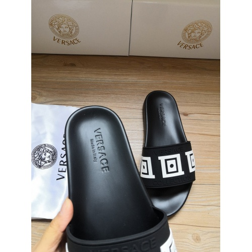Replica Versace Slippers For Men #767524 $41.71 USD for Wholesale