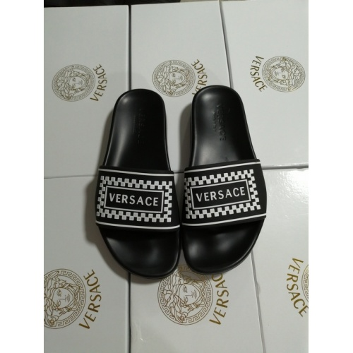 Versace Slippers For Women #767550 $41.71, Wholesale Replica Versace Slippers