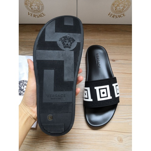 Replica Versace Slippers For Women #767551 $41.71 USD for Wholesale
