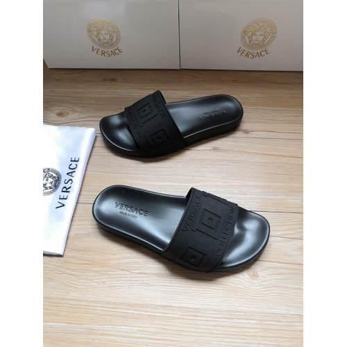 Replica Versace Slippers For Women #767552 $41.71 USD for Wholesale