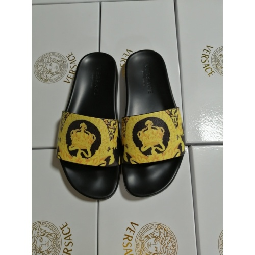 Versace Slippers For Women #767558 $41.71, Wholesale Replica Versace Slippers