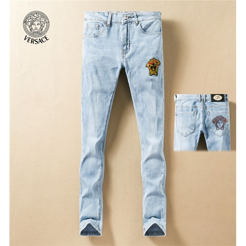 Versace Jeans Trousers For Men #767568 $43.65, Wholesale Replica Versace Jeans