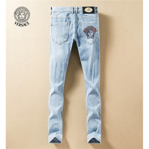 Replica Versace Jeans Trousers For Men #767568 $43.65 USD for Wholesale
