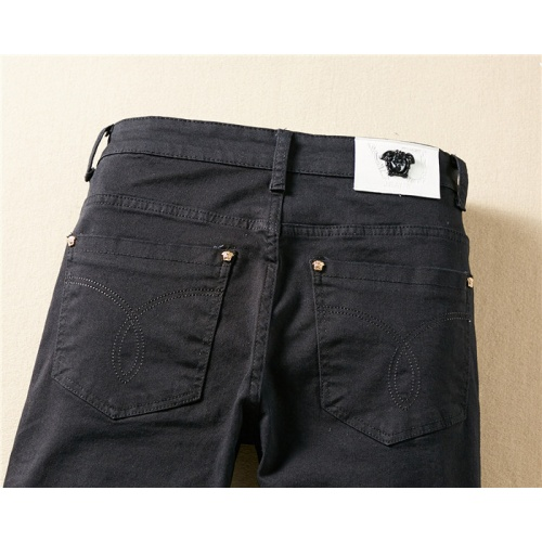 Replica Versace Jeans Trousers For Men #767569 $43.65 USD for Wholesale