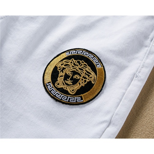 Replica Versace Jeans Trousers For Men #767570 $43.65 USD for Wholesale