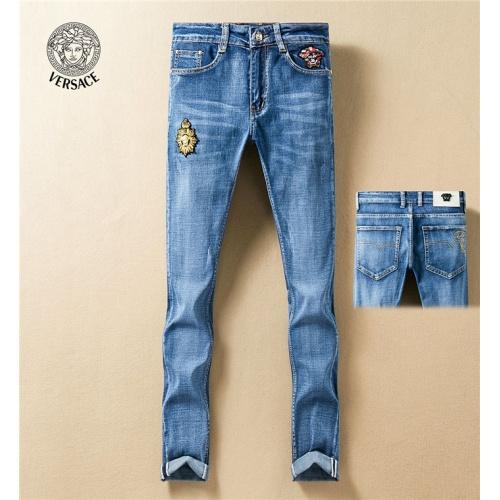 Versace Jeans Trousers For Men #767571 $43.65, Wholesale Replica Versace Jeans