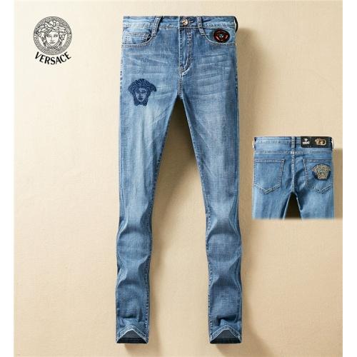 Versace Jeans Trousers For Men #767572 $43.65, Wholesale Replica Versace Jeans