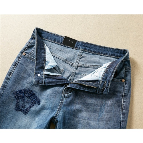 Replica Versace Jeans Trousers For Men #767572 $43.65 USD for Wholesale