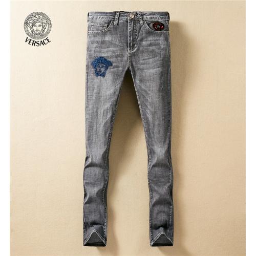 Versace Jeans Trousers For Men #767573 $43.65, Wholesale Replica Versace Jeans