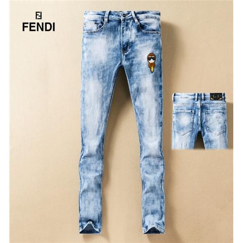 Fendi Jeans Trousers For Men #767574