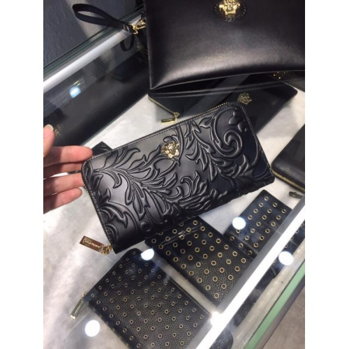 Versace AAA Man Wallets #767735