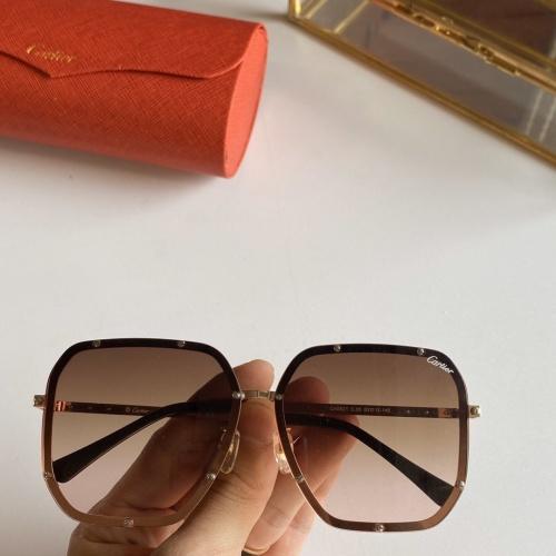 Cartier AAA Quality Sunglasses #768144