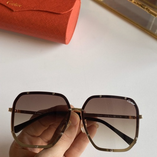 Cartier AAA Quality Sunglasses #768145