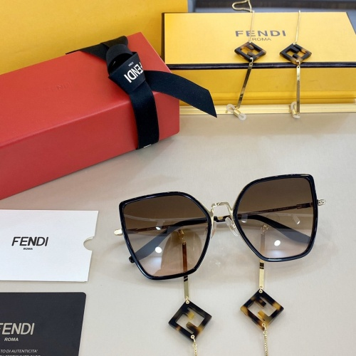 Fendi AAA Quality Sunglasses #768170
