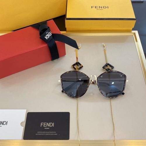 Fendi AAA Quality Sunglasses #768174