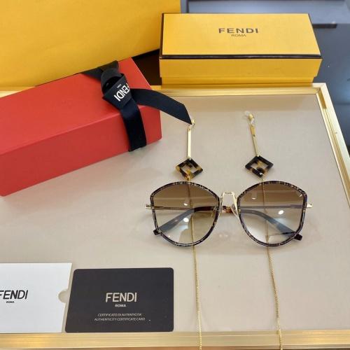 Fendi AAA Quality Sunglasses #768180