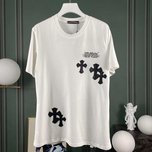 Chrome Hearts & Off-White T-Shrits Short Sleeved O-Neck For Men #768275