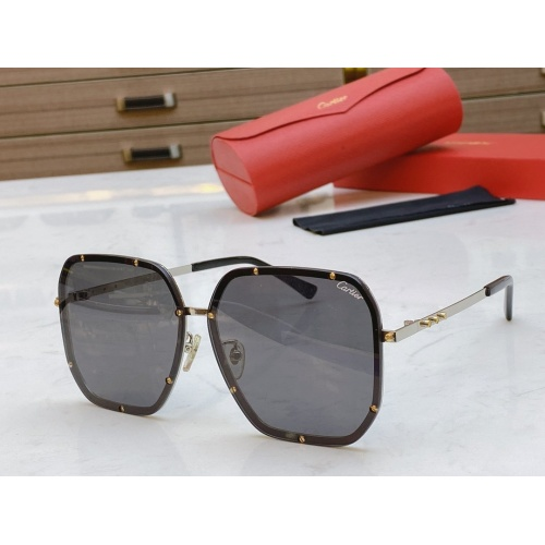 Cartier AAA Quality Sunglasses #768544