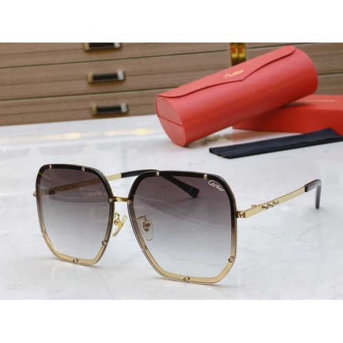 Cartier AAA Quality Sunglasses #768545