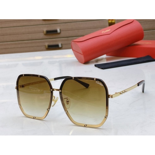 Cartier AAA Quality Sunglasses #768546