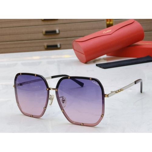 Cartier AAA Quality Sunglasses #768548
