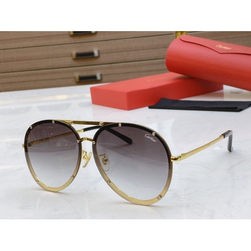 Cartier AAA Quality Sunglasses #768550