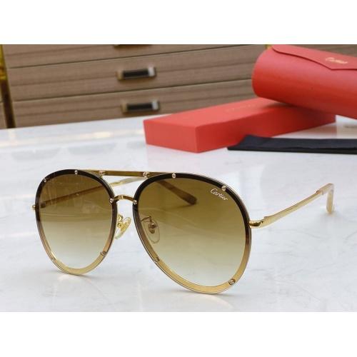 Cartier AAA Quality Sunglasses #768551