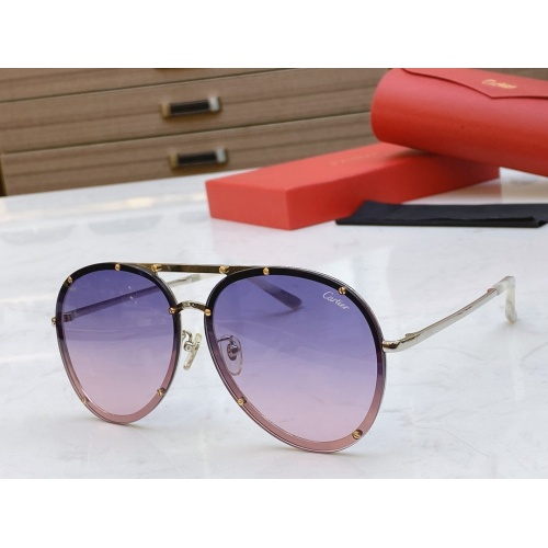 Cartier AAA Quality Sunglasses #768554