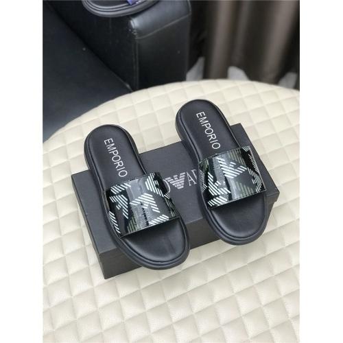 Armani Slippers For Men #768569