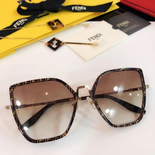 Fendi AAA Quality Sunglasses #768592