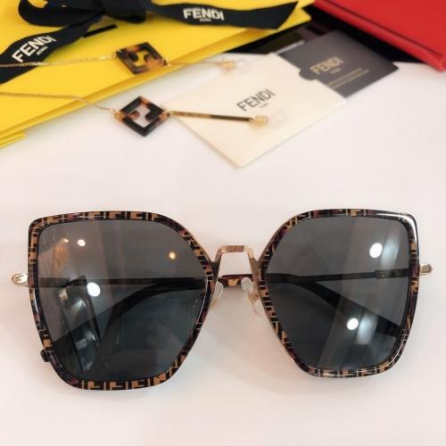 Fendi AAA Quality Sunglasses #768595