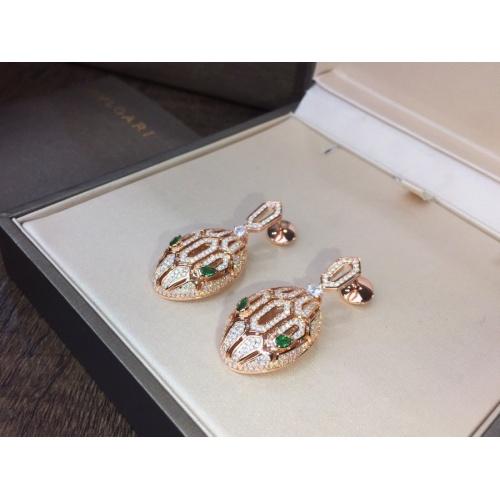 Bvlgari Earrings #768666 $32.98, Wholesale Replica Bvlgari Earrings