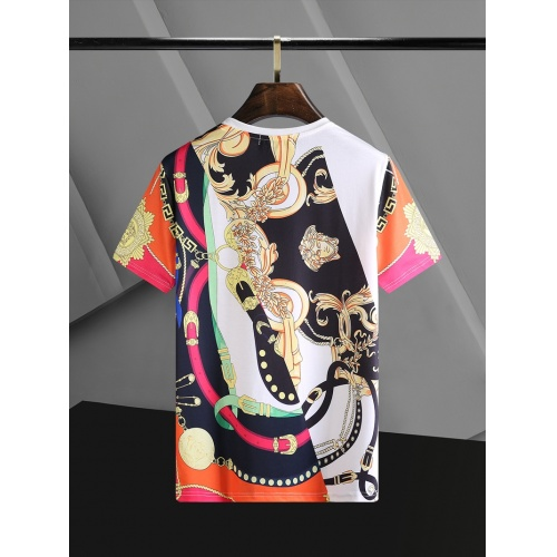 Replica Versace T-Shirts Short Sleeved O-Neck For Men #768690 $23.28 USD for Wholesale