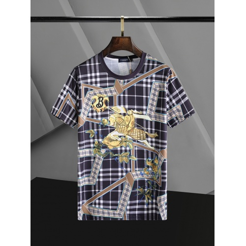 Burberry T-Shirts Short Sleeved O-Neck For Men #768692