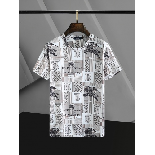 Burberry T-Shirts Short Sleeved O-Neck For Men #768700 $23.28 USD, Wholesale Replica Burberry T-Shirts