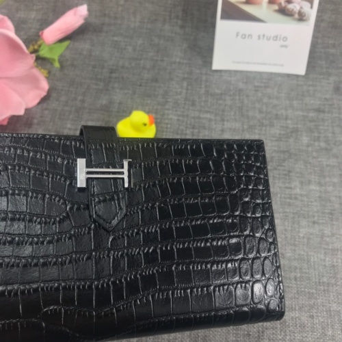 Replica Hermes AAA Quality Wallets For Women #769235 $70.81 USD for Wholesale