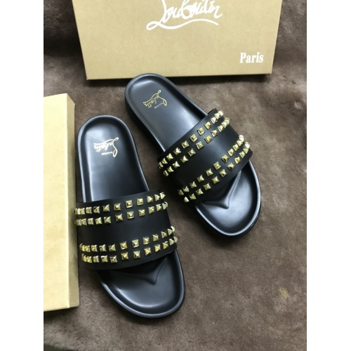 Christian Louboutin CL Slippers For Men #769378