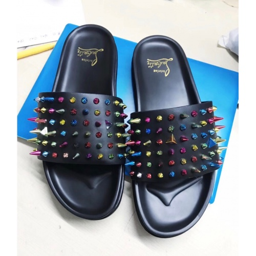 Christian Louboutin CL Slippers For Men #769380
