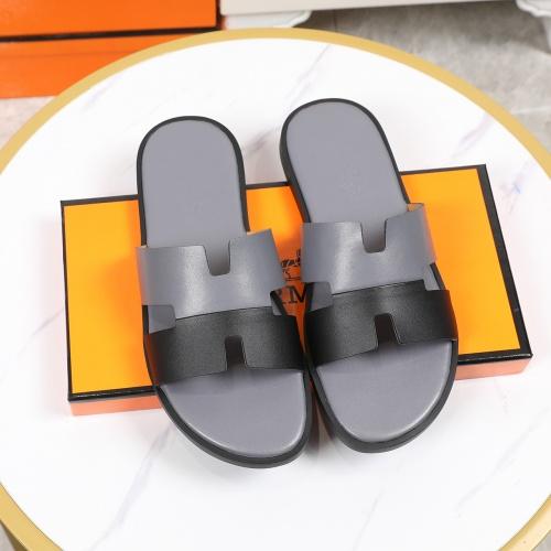 Hermes Slippers For Men #769384 $43.65 USD, Wholesale Replica Hermes Slippers