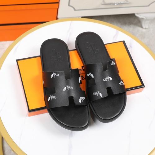 Hermes Slippers For Men #769449 $46.56, Wholesale Replica Hermes Slippers