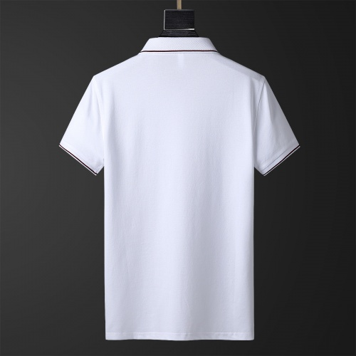 Replica Moncler T-Shirts Short Sleeved Polo For Men #769460 $26.19 USD for Wholesale