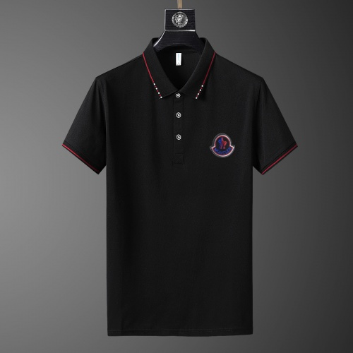Moncler T-Shirts Short Sleeved Polo For Men #769461 $26.19, Wholesale Replica Moncler T-Shirts