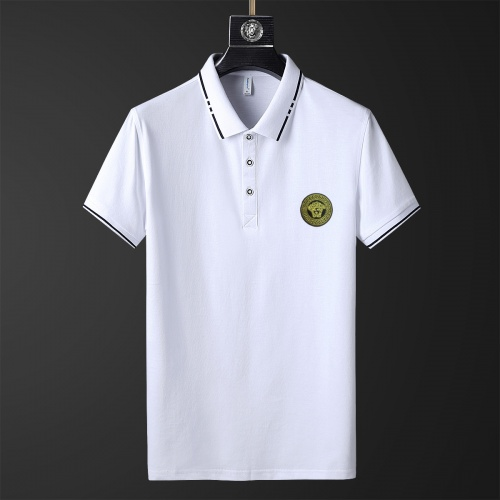 Versace T-Shirts Short Sleeved Polo For Men #769466