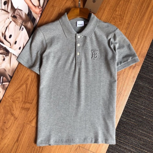 Burberry T-Shirts Short Sleeved Polo For Men #769474