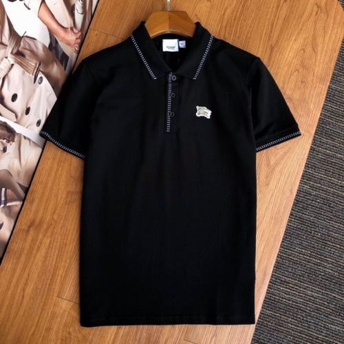 Burberry T-Shirts Short Sleeved Polo For Men #769482