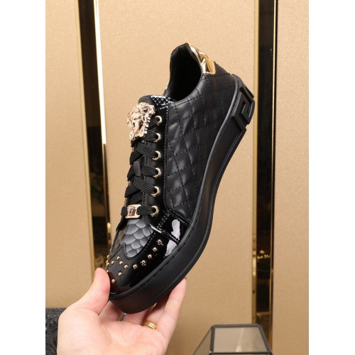 Replica Versace Casual Shoes For Men #769586 $79.54 USD for Wholesale