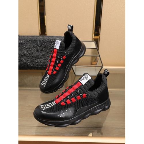 Versace Casual Shoes For Men #769606 $79.54, Wholesale Replica Versace Shoes